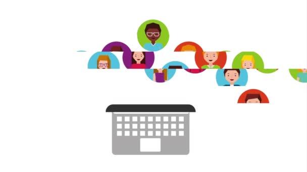 Soziale Netzwerke, Videoanimation