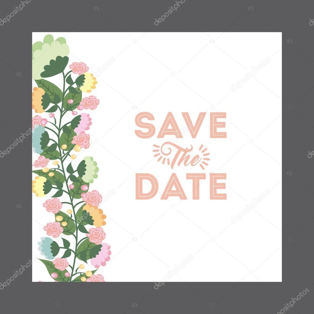 Hochzeit Einladung design — Stockvektor © yupiramos #110210436