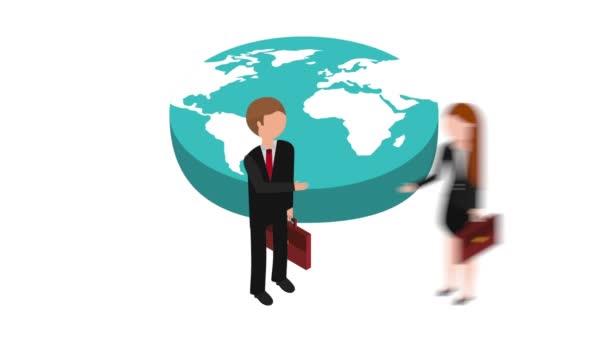 Animation für Geschäftsleute