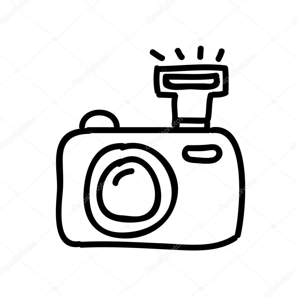 Afbeeldingsresultaat voor tekening fototoestel