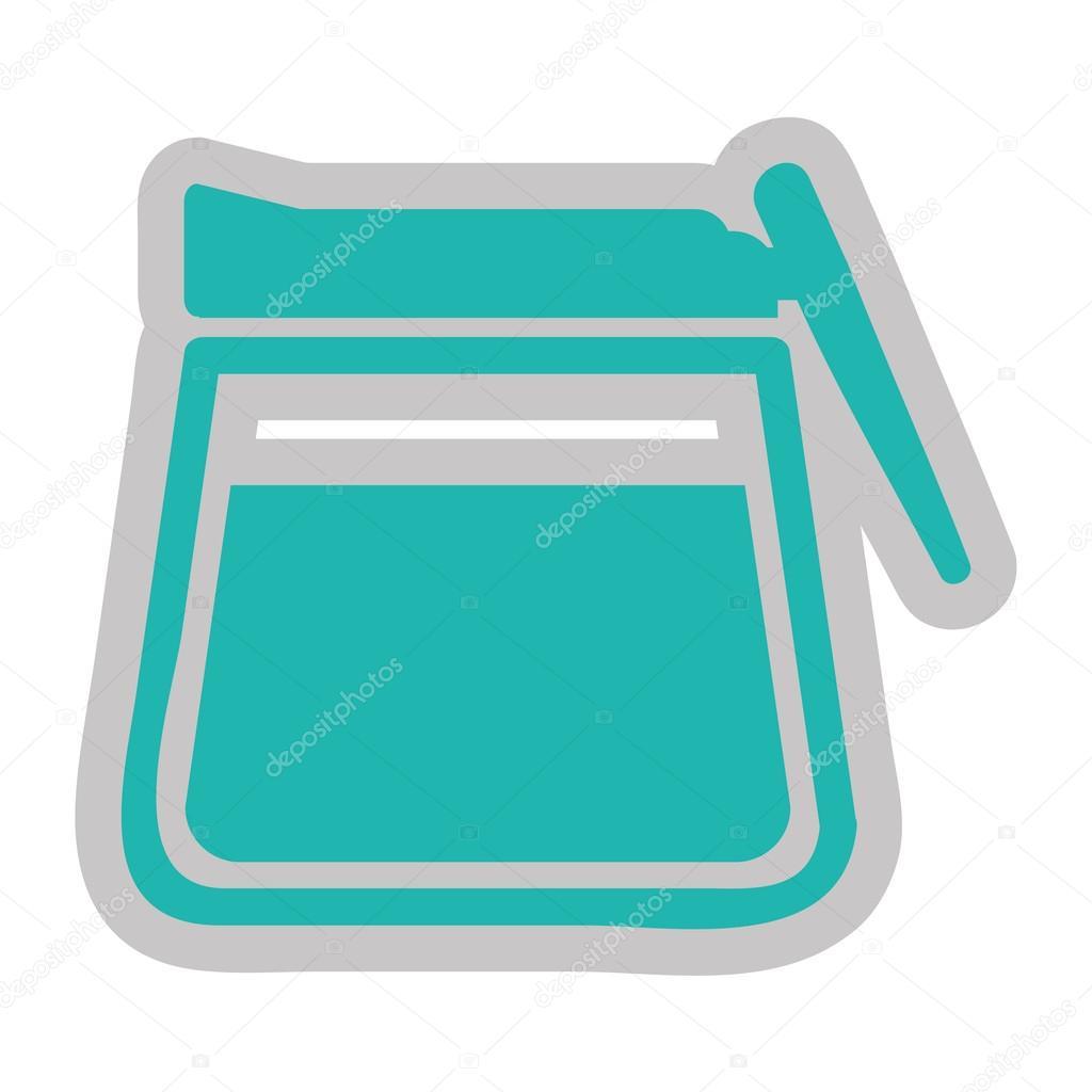 Moderne Teekanne moderne teekanne icon design stockvektor yupiramos 114432256