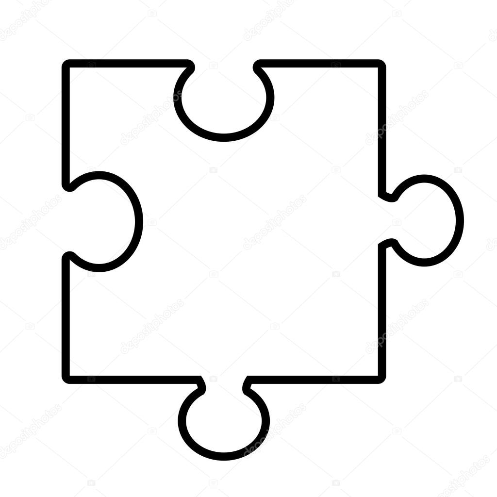 isolated puzzle piece vector graphic stock vector yupiramos rh depositphotos com puzzle piece graphics in powerpoint puzzle piece graphics in powerpoint