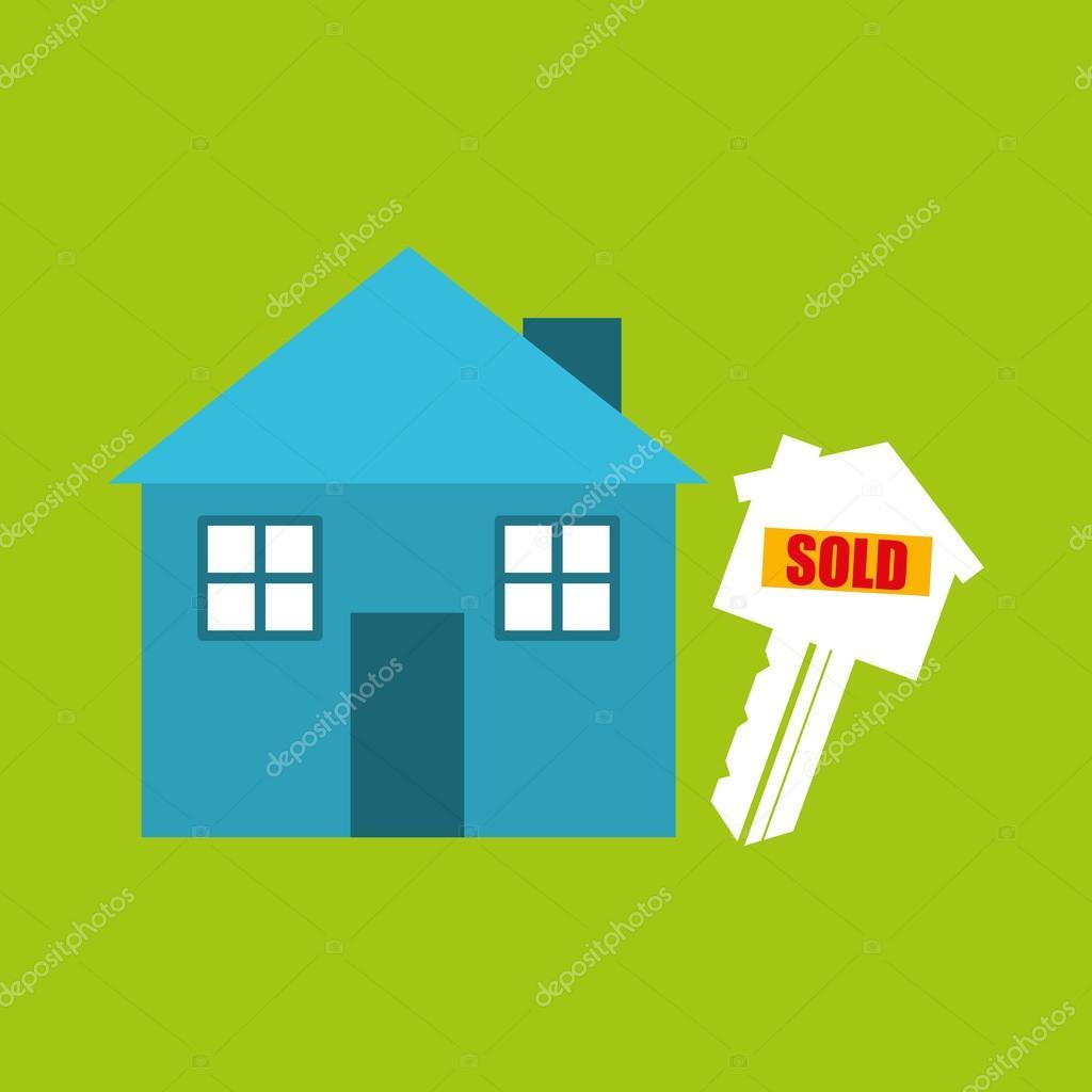Venta Casa Vendida Negocios Vector De Stock C Yupiramos 116387438
