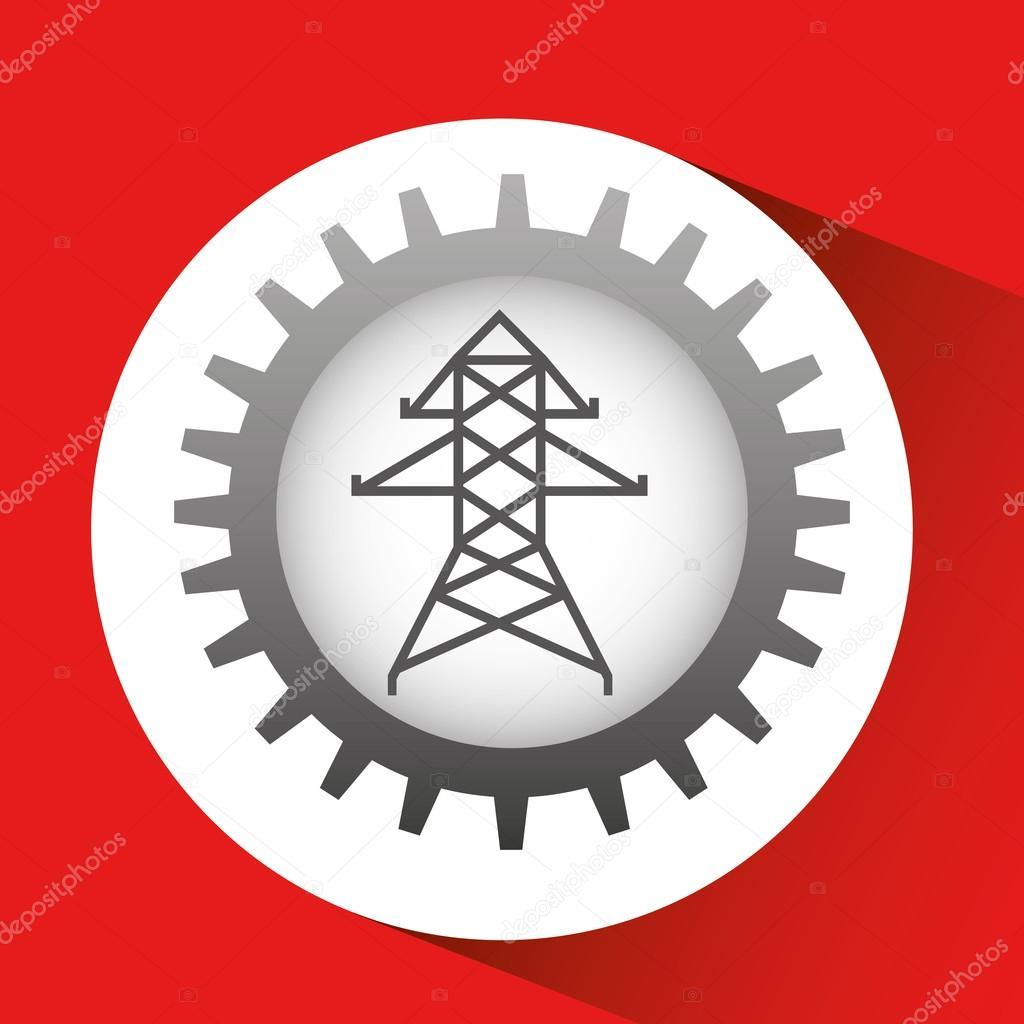 elektrische Energie-Symbol — Stockvektor © yupiramos #116709198