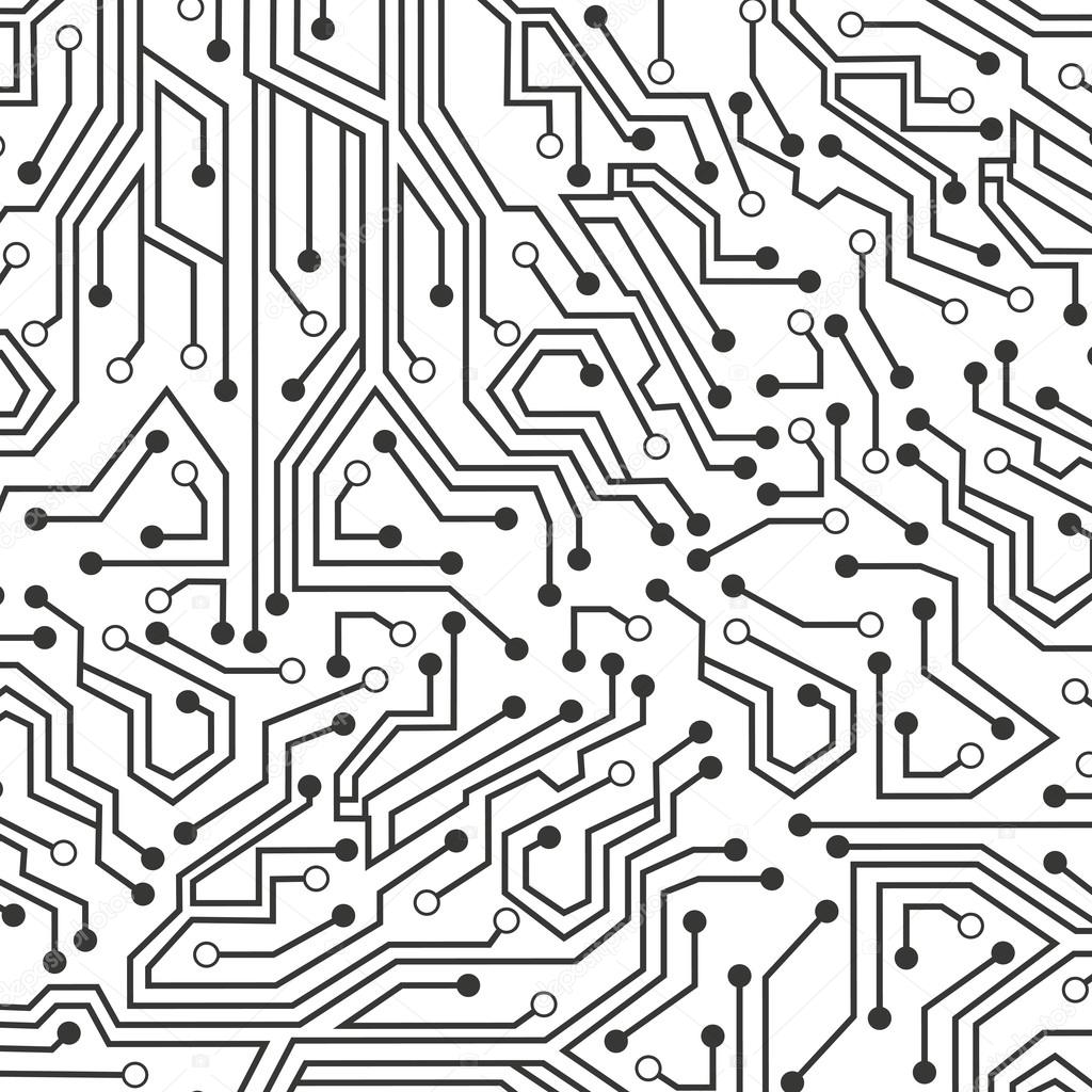 Circuito Eletricos : ícone de circuito elétrico papel de parede u vetores de stock