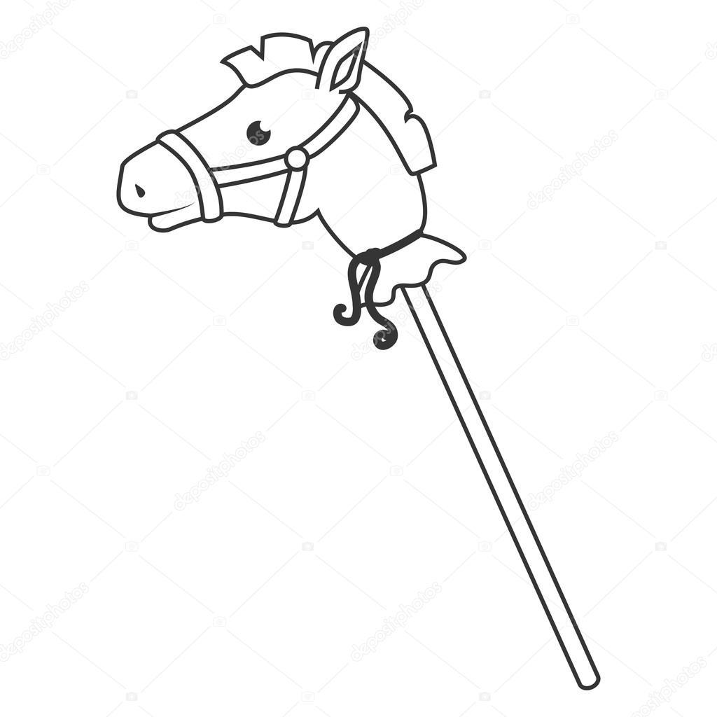 Toy Horse On Stick Toys Model Ideas