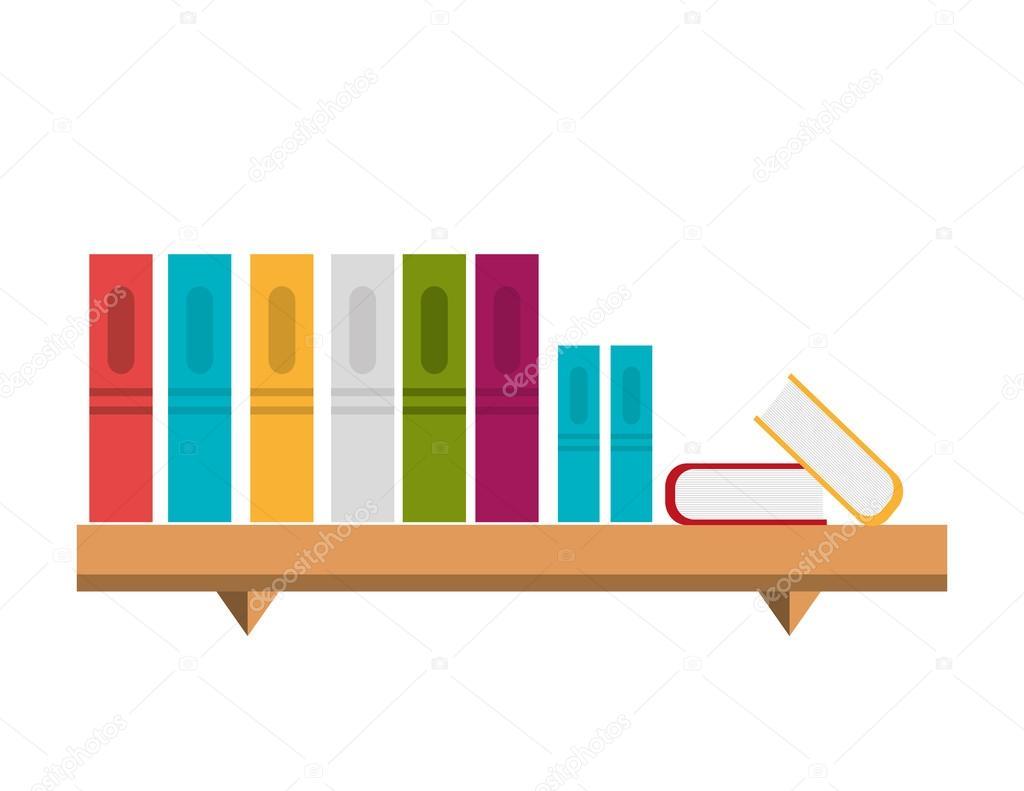Libreria Ufficio Bassa : Libreria ufficio isolato disegno dellicona u2014 vettoriali stock