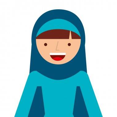 islamic woman culture icon