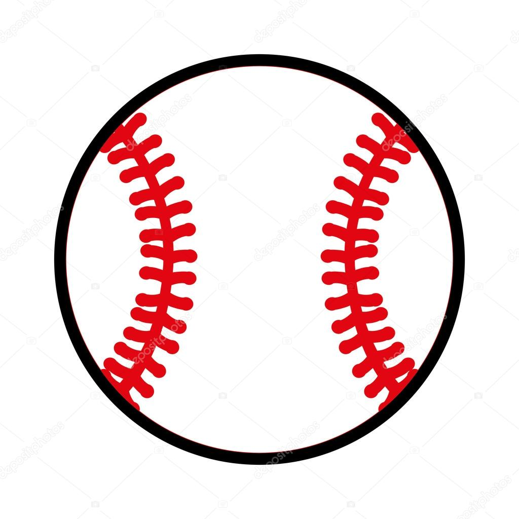 Baseball ball equipment icon — Stock Vector © yupiramos
