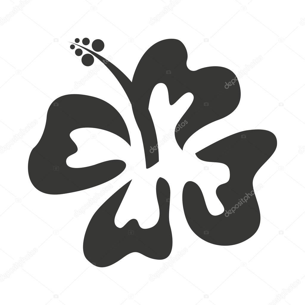 Hawaiian flower natural icon stock vector yupiramos 118440588 hawaiian flower natural icon stock vector izmirmasajfo