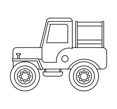jeep colombian coffee car