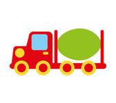 Stavební auto hračka děti ikona
