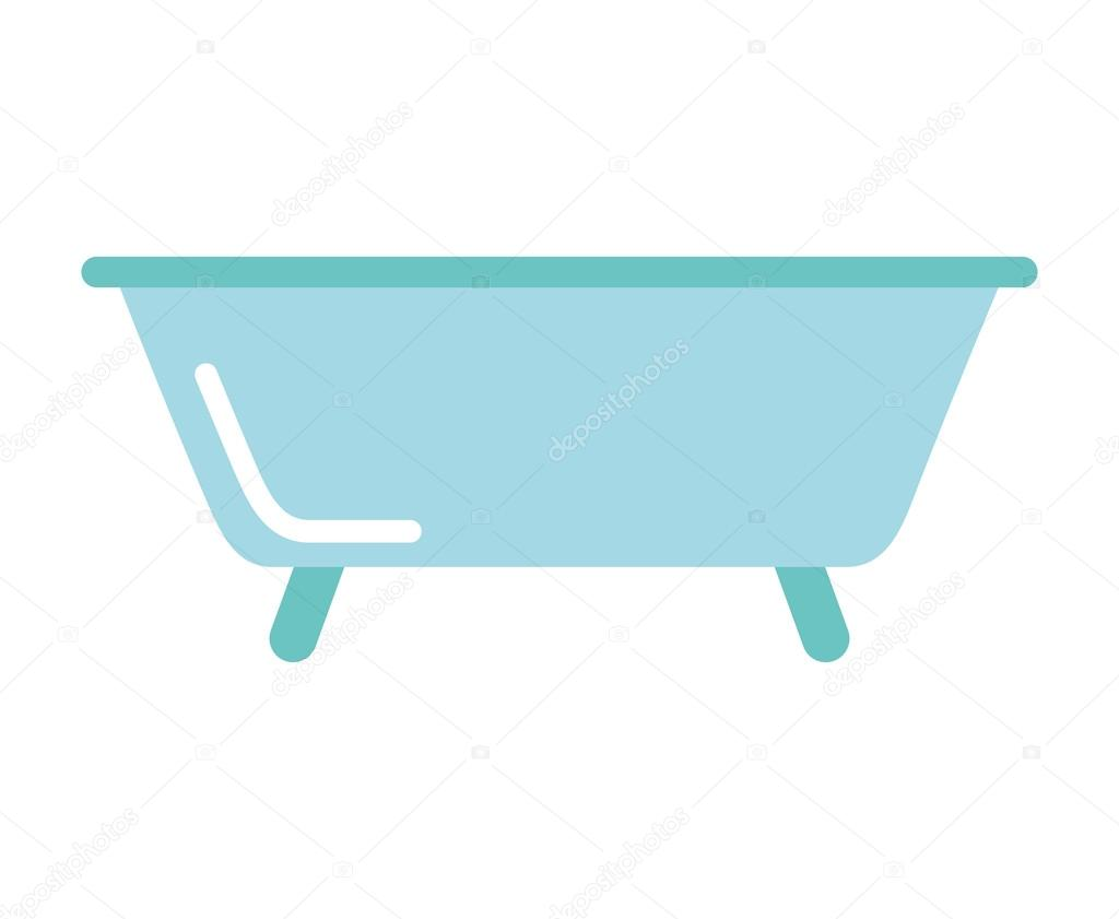 bath tub clean icon — Stock Vector © yupiramos #118732460