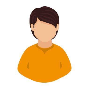 man guy boy person face head icon vector graphic