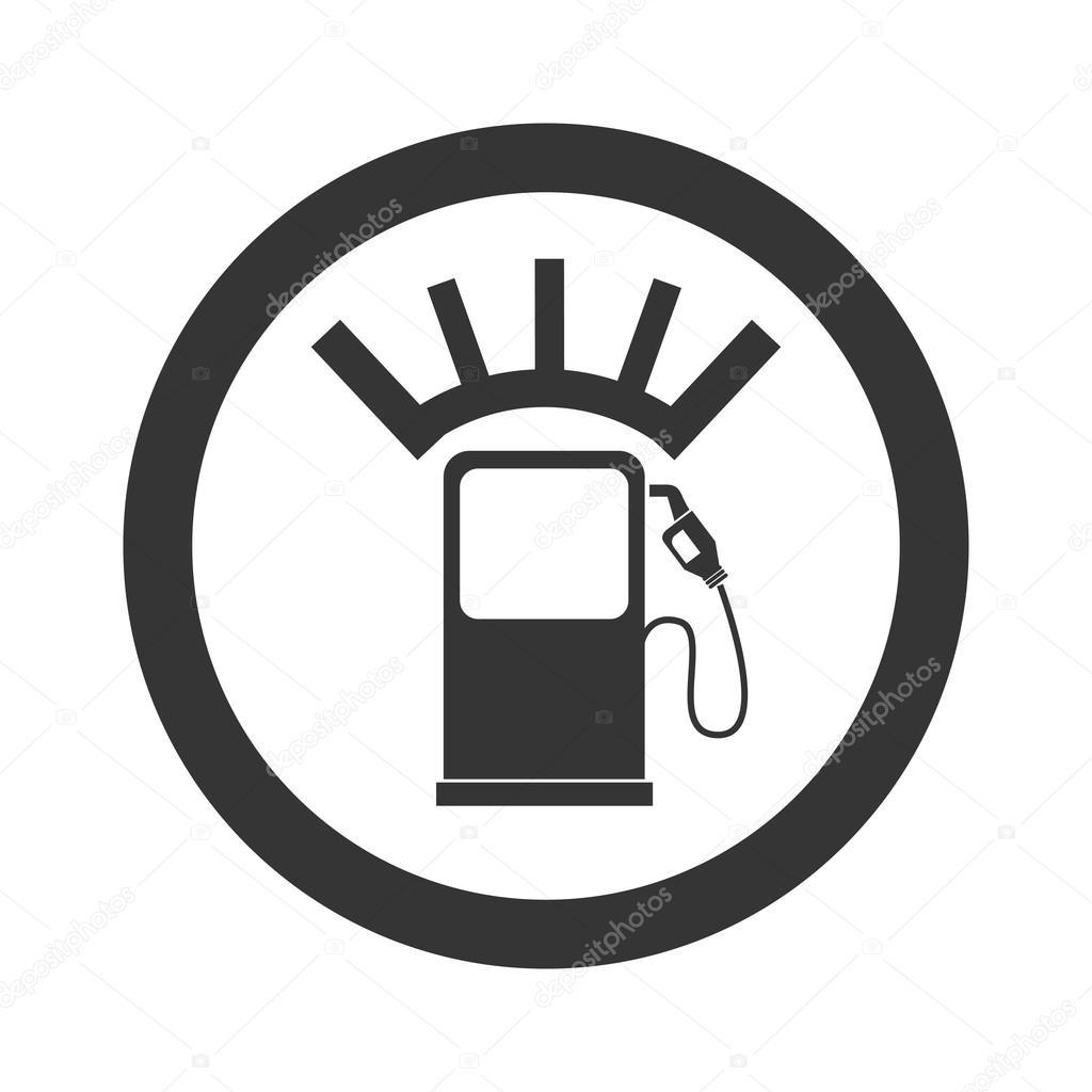 meter fuel pump icon vector graphic — Stock Vector © yupiramos ...