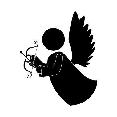 angel arch arrow instrument icon vector