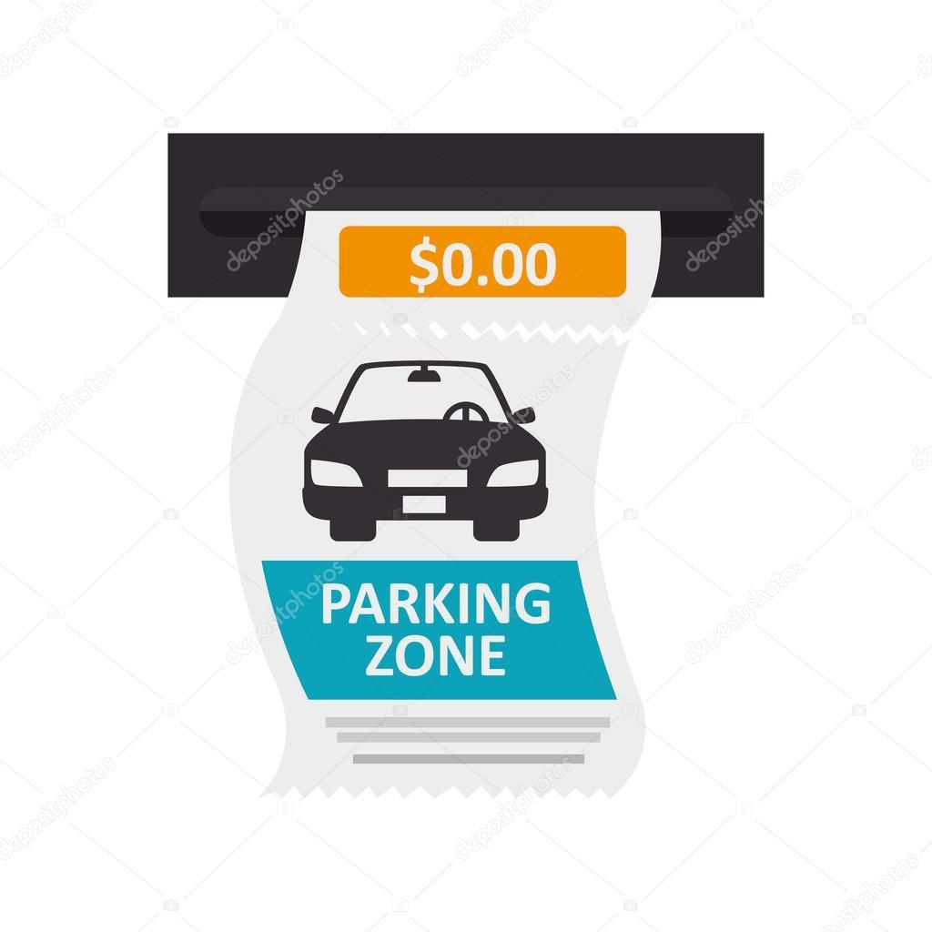 car ticket parking