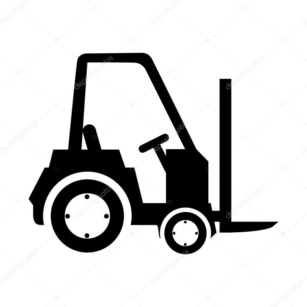 Carretilla de carga vector de stock yupiramos 121098544 - Carretillas de carga ...