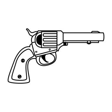 revolver weapon handgun