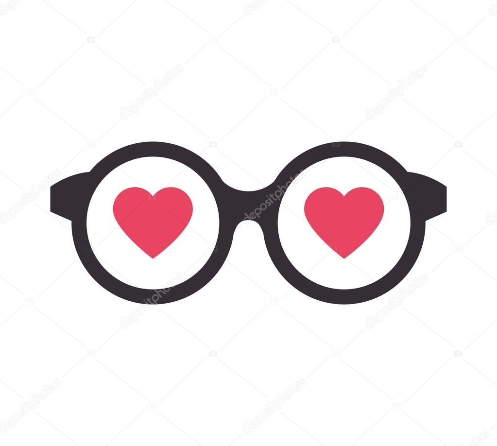 Gafas Corazon Para Imprimir Copas De Amor Corazón Vector De