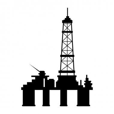 manufacture production oil platform isolated