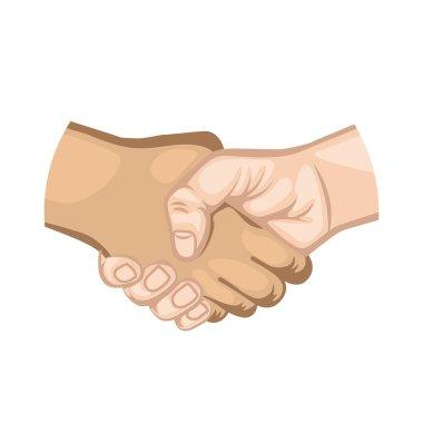 hand shake symbol icon