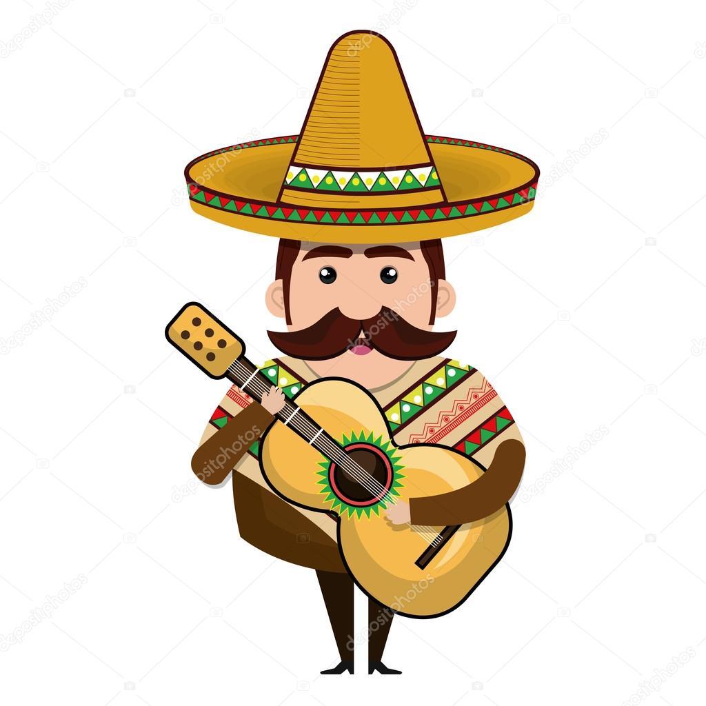 mexican man cartoon