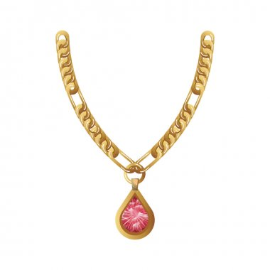 jewelry gold necklace