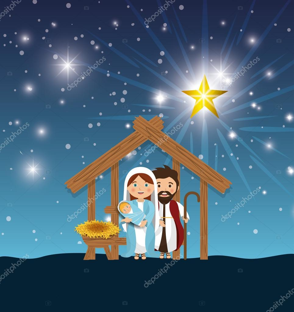 Silueta nacimiento feliz navidad dise o archivo im genes vectoriales yupiramos 123218154 - Nacimiento para navidad ...
