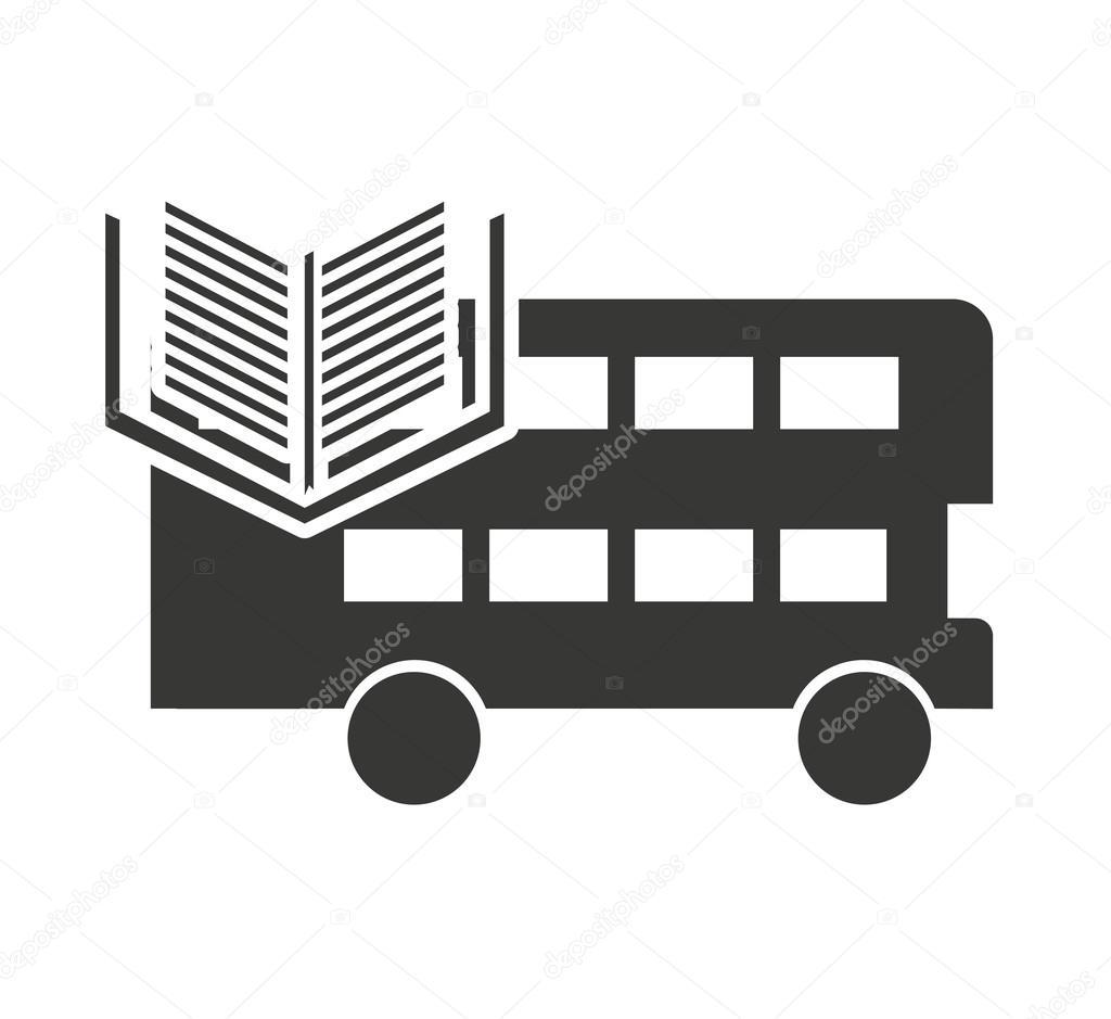 London-Bus mit dem Symbol lernen — Stockvektor © yupiramos #124117706