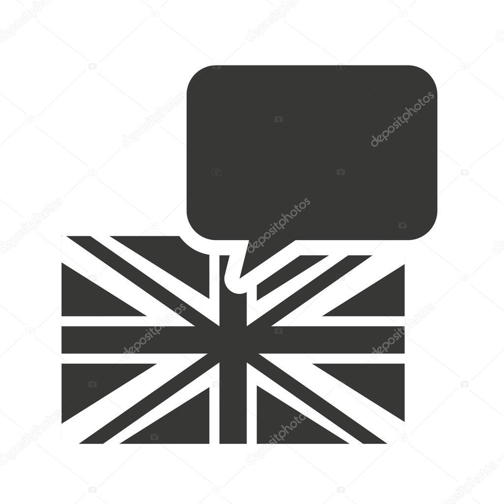 Lernen Sie englische Erziehung Symbole — Stockvektor © yupiramos ...