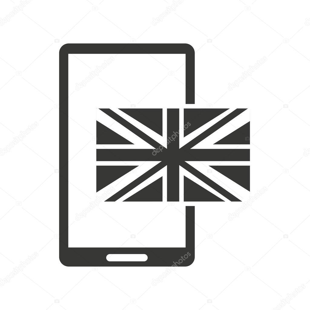 Lernen Sie Englisch Online-Symbol — Stockvektor © yupiramos #124118518