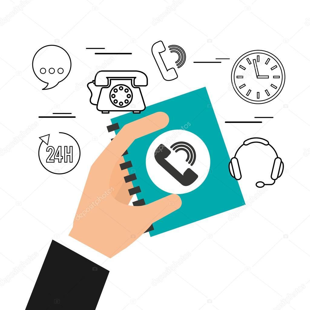 call center service line