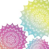 Fotografie Mandala Indie kultura ikona