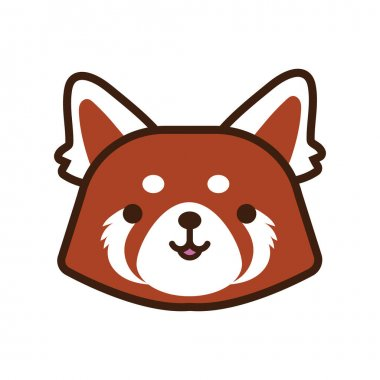 Little fox kawaii animal line and fill style vector illustration design icon