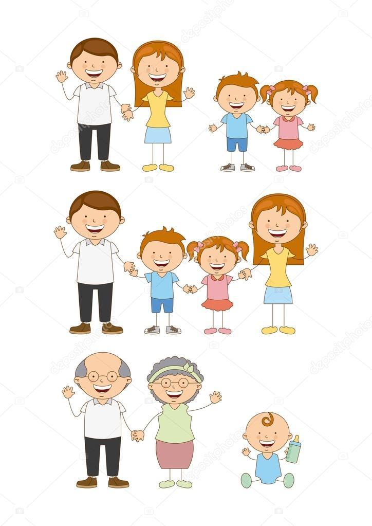 Family Design Stock Vector Yupiramos 52637059