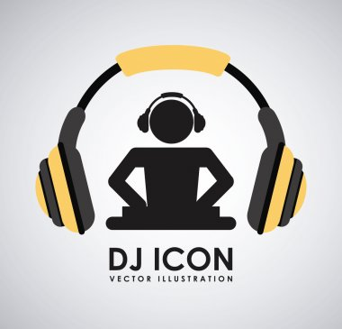 dj icon design