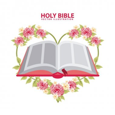 Holy bible graphic design , vector illustration stock vector