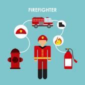 tűzoltó design