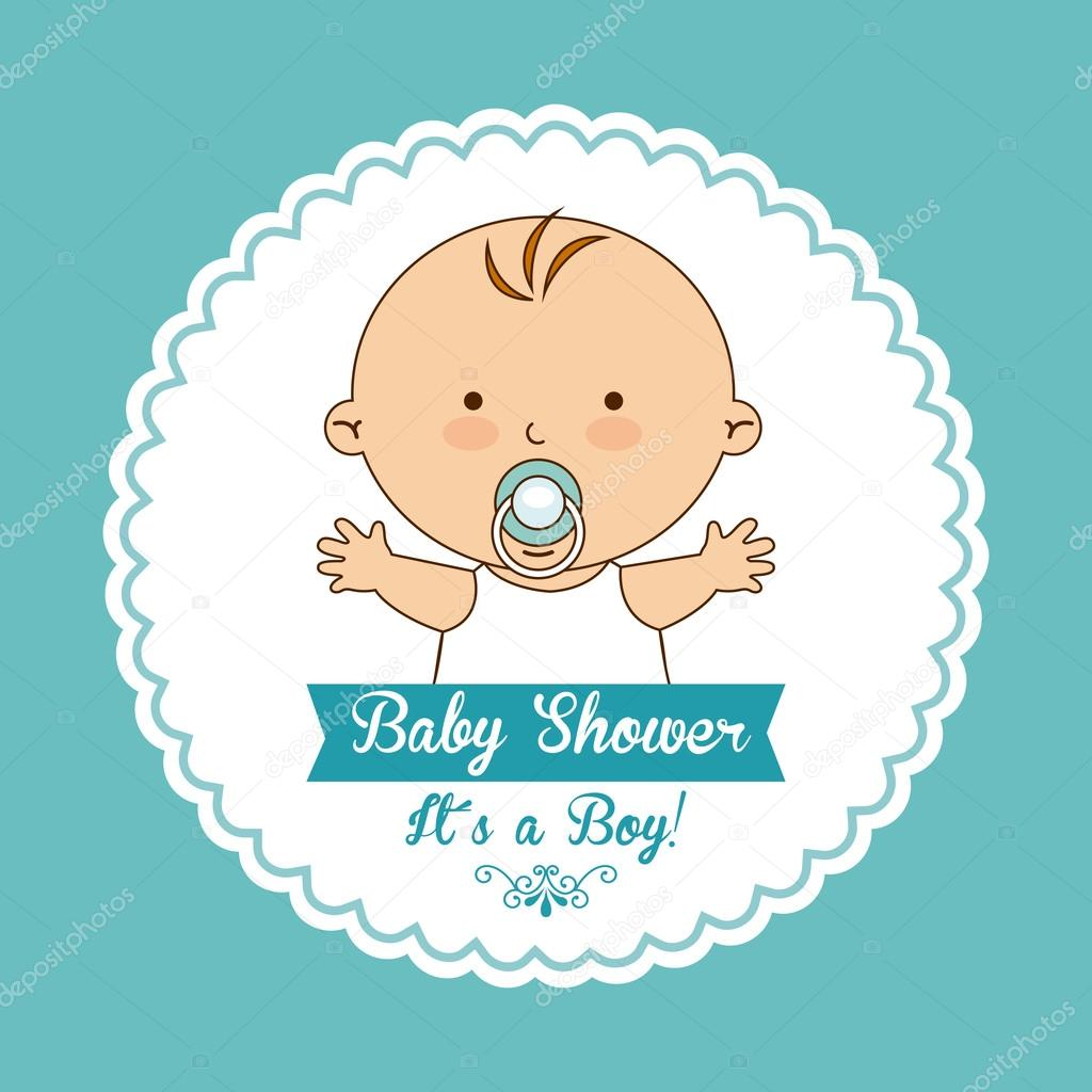 Well-known desenho de chá de bebê — Vetores de Stock © yupiramos #60783663 WN48