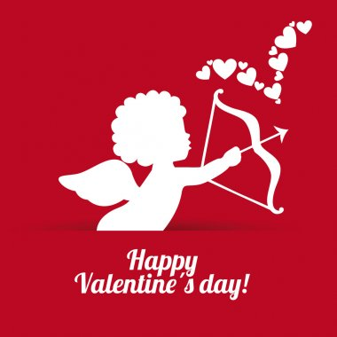 Valentines day design, vector illustration eps10 graphic clip art vector