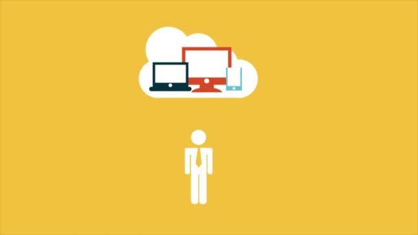 Cloud computing Video animation