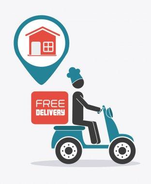 Delivery design illustration.