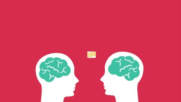 Ideas on brain illustration Video Animation HD 1080