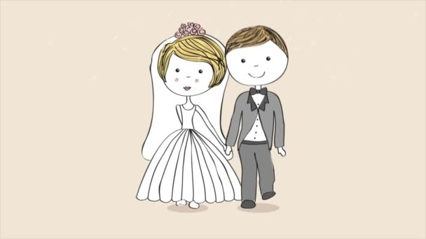 Wedding, Video animation