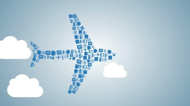 Repülőgép Video animation