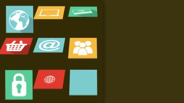 Symbole Videoanimation