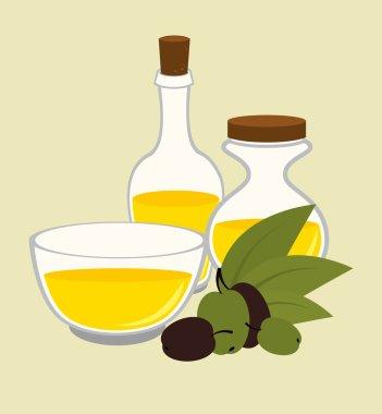 """Картина, постер, плакат, фотообои """"дизайн оливкового масла, векторная иллюстрация ."""", артикул 67944487"""