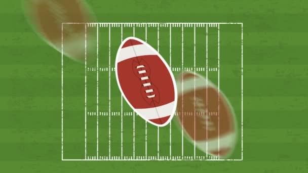 Football field, Video animation