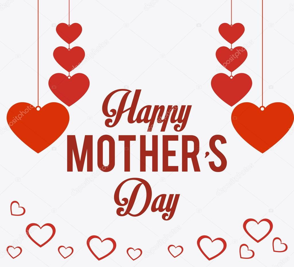 happy mothers day card design u2014 stock vector yupiramos 69774073